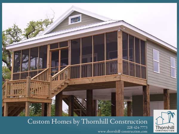 Custom home builder in waveland bay st louis pass Mississippi custom home builders