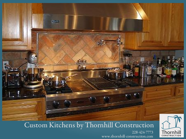 Custom Kitchens by Thornhill Construction offers a great finished quality for couples and families looking to make Coastal Living come to life.