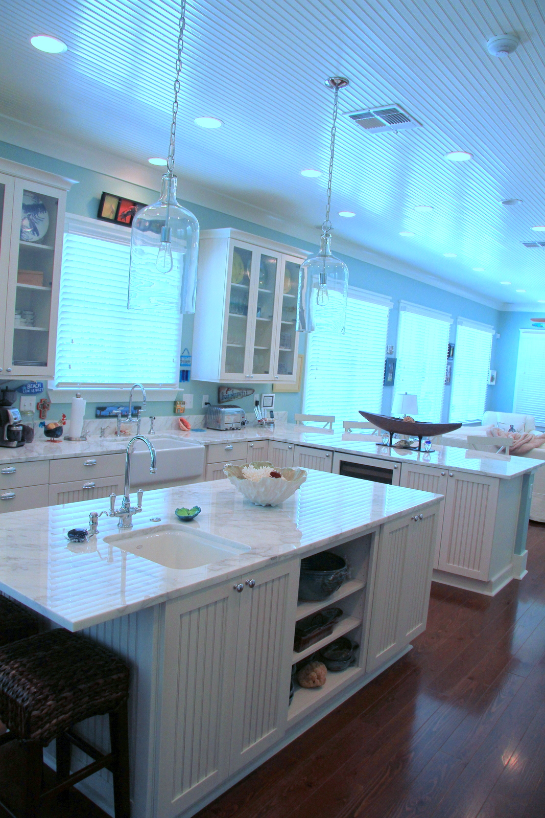 Custom kitchen design or renovation on mississippi gulf Mississippi custom home builders
