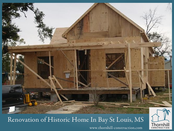 Historic home renovations on gulf coast custom home Mississippi custom home builders