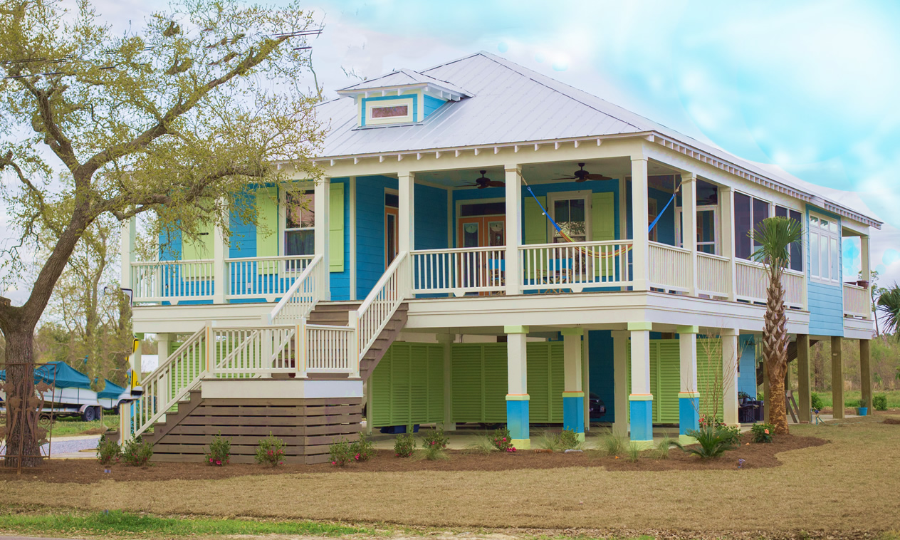 Custom Home Builder Finishes Waveland Mississippi Home