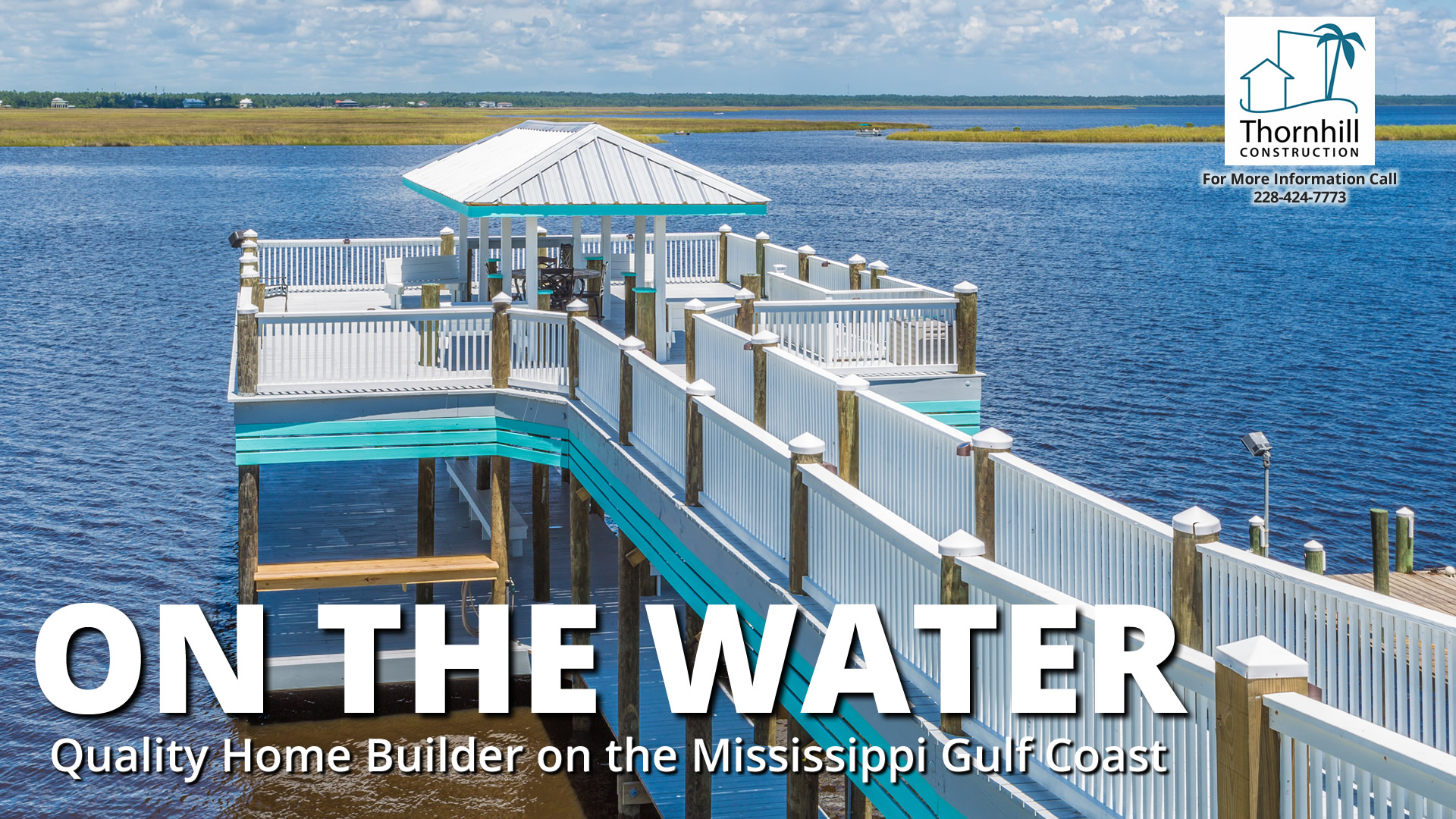 Waterfront home builder on Mississippi Gulf Coast