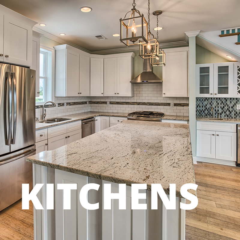 Build your dream kitchen to serve up fresh Gulf Fish or oysters.