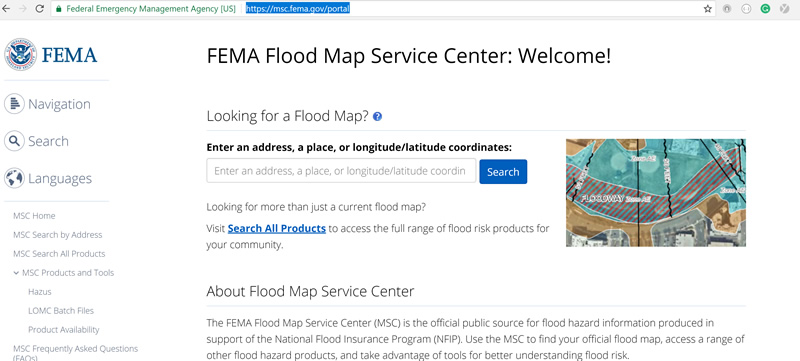 Search your lots flood plain building requirements